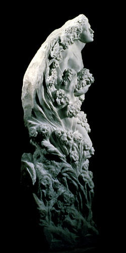 Spring, Carrara marble, Private Collection in St. Louis, TN