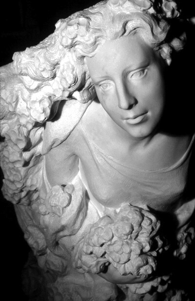 Spring by JIll Burkee, marble, close-up