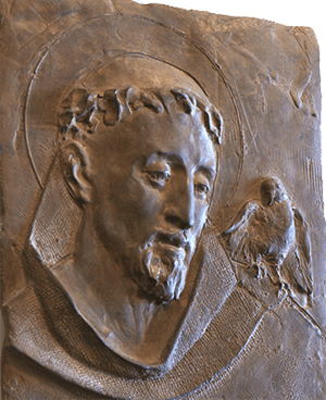 Saint Francis by Jill Burkee and Giancarlo Biagi